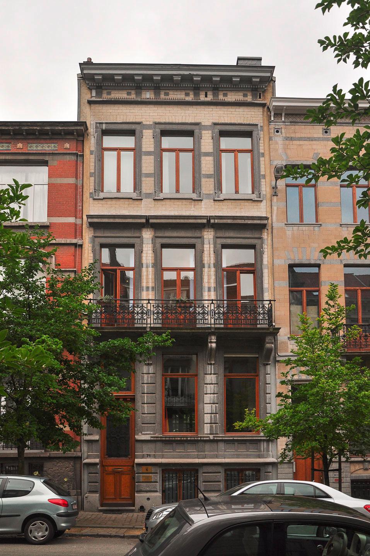 Straßenansicht / Büro des Landes Berlin bei der EU