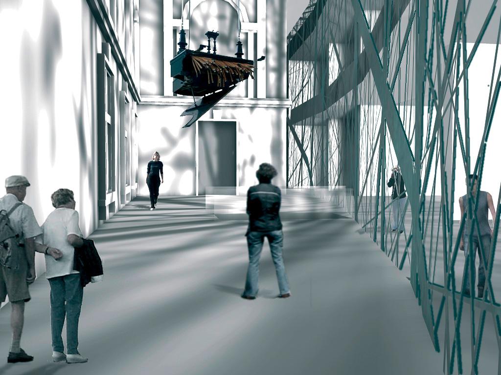 Innenraum / Kunsthalle Bremen / Realisierungswettbewerb