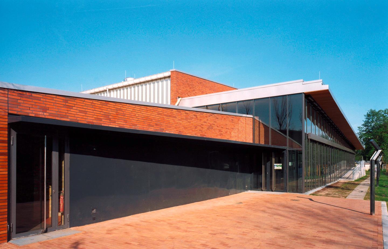 Zuschauereingang / Schul- und Sportzentrum Timmendorf Strand