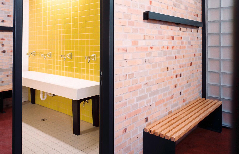 Waschräume / Schul- und Sportzentrum Timmendorf Strand