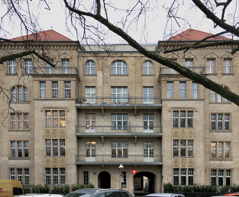 Frontfassade / Wikinghof Berlin-Kreuzberg