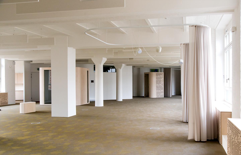 Büroetage – noch unmöbliert / Wikinghof Berlin-Kreuzberg