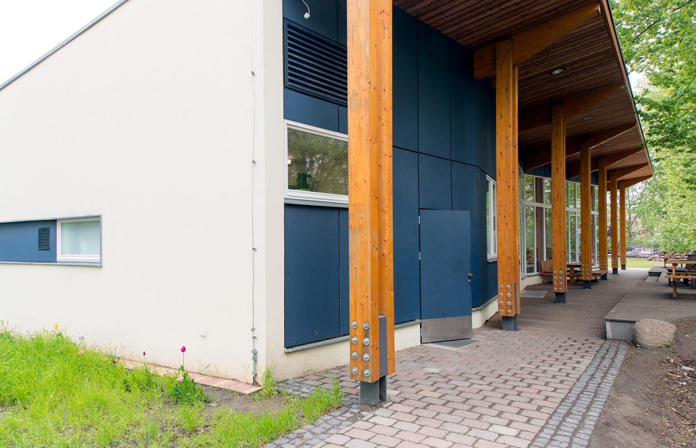 Eingang Küche / Waldorfschule im märkischen Viertel