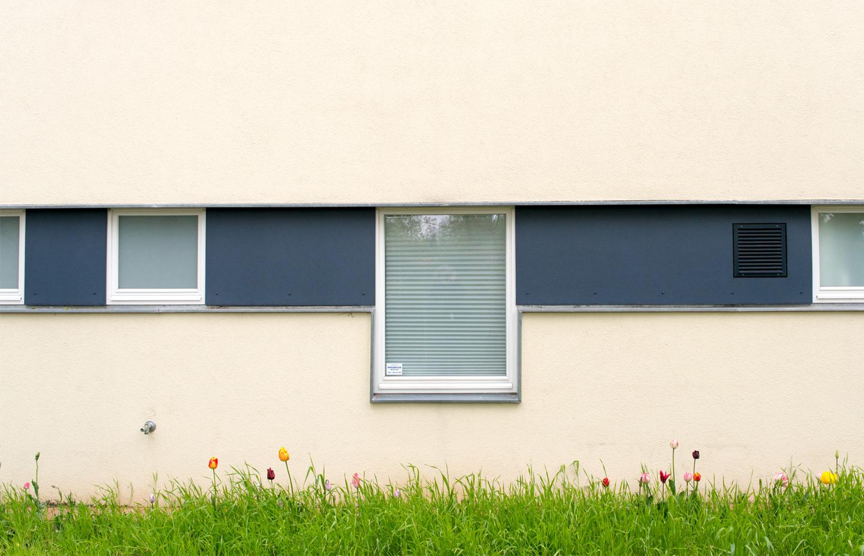 Fensterband Nebenräume / Waldorfschule im märkischen Viertel