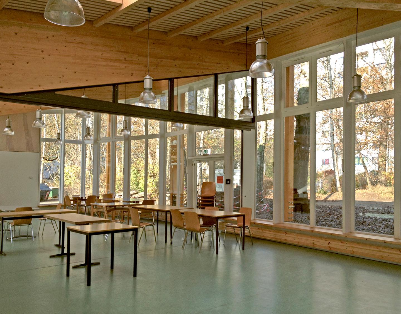 Mobile Trennwand (geöffnet) / Waldorfschule im märkischen Viertel