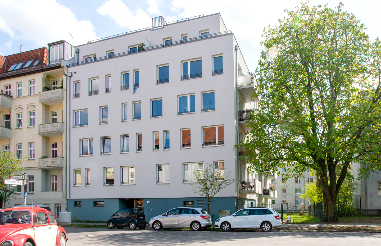 Straßenfassade / M3A_Mehrfamilienhausneubau