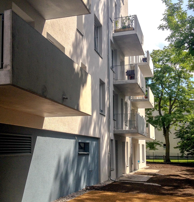 Gartenseite / M3A_Mehrfamilienhausneubau