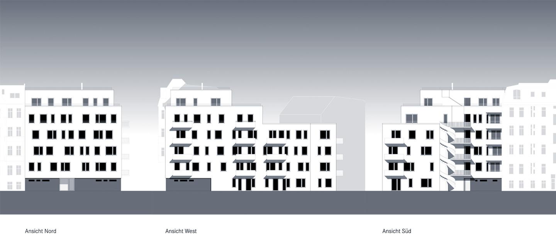 Ansichten / M3A_Mehrfamilienhausneubau