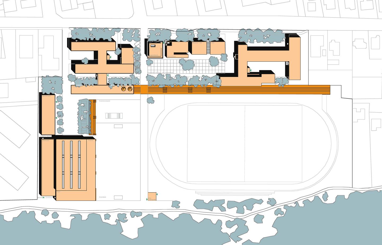 Lageplan / Schul- und Sportzentrum Timmendorf Strand
