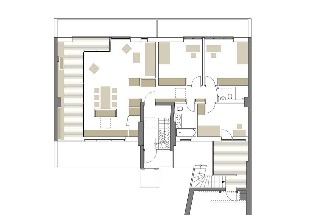 6. OG / Aufstockung auf Ateliergebäude / Berlin-Wilmersdorf